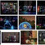 【ピカピカ動画!】光の残像を使った結婚式の余興作成方法とは?